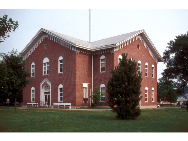 MACON COUNTY COURTHOUSE AND ANNEX image