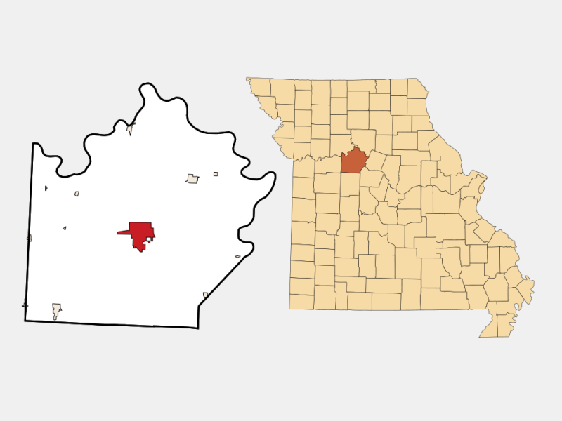 Marshall locator map