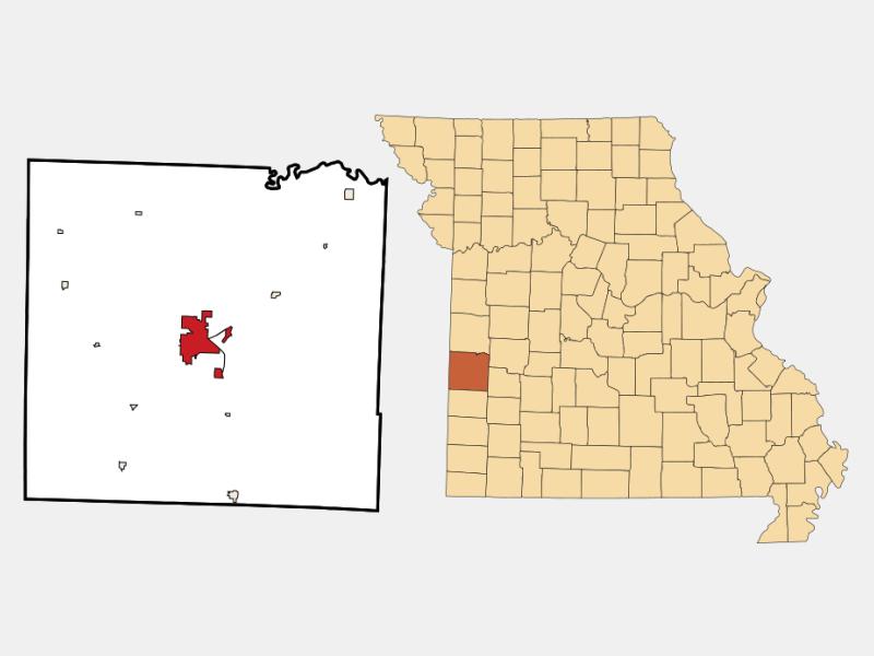Nevada locator map