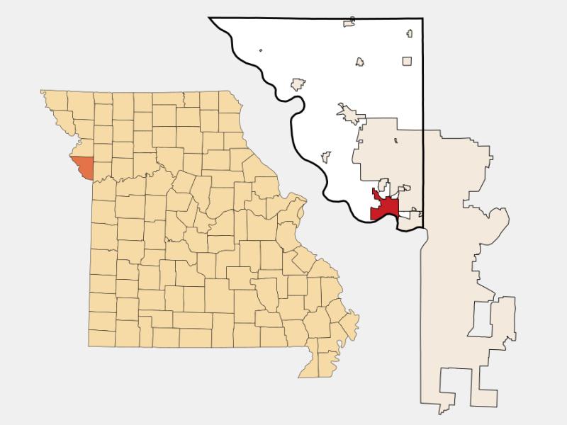 Parkville location map