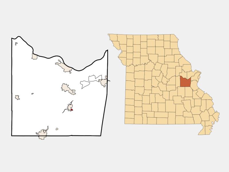 Parkway locator map