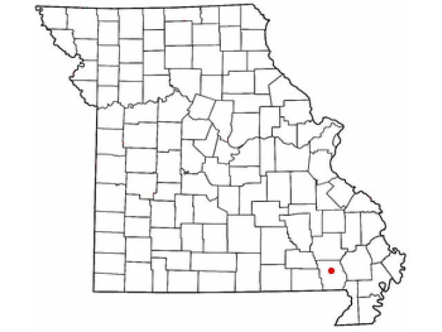 Poplar Bluff locator map