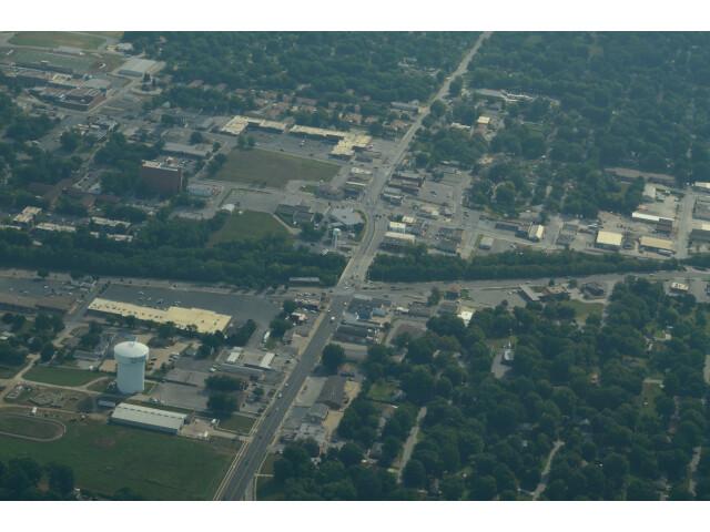 Aerial view of Raytown  Missouri 8-31-2013 image
