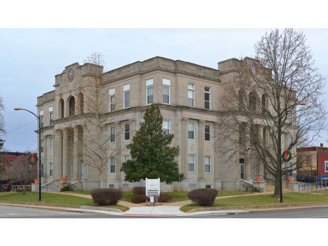 St Francois County Missouri Courthouse-20150101-073-pano image