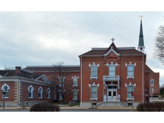 SteGenevieve Missouri Courthouse-20150101-015-pano image