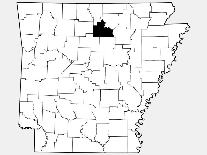 Stone County locator map