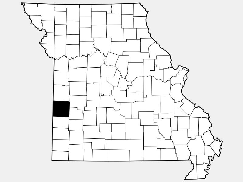 Vernon County location map