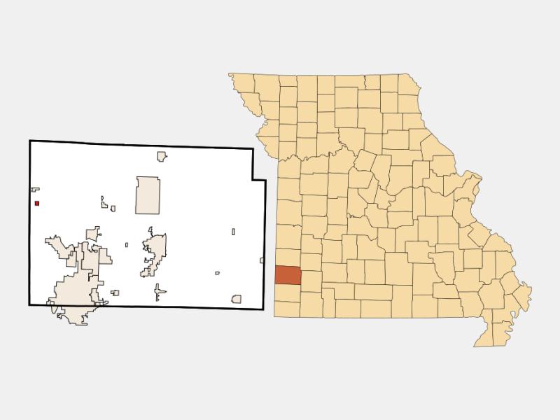 Waco locator map