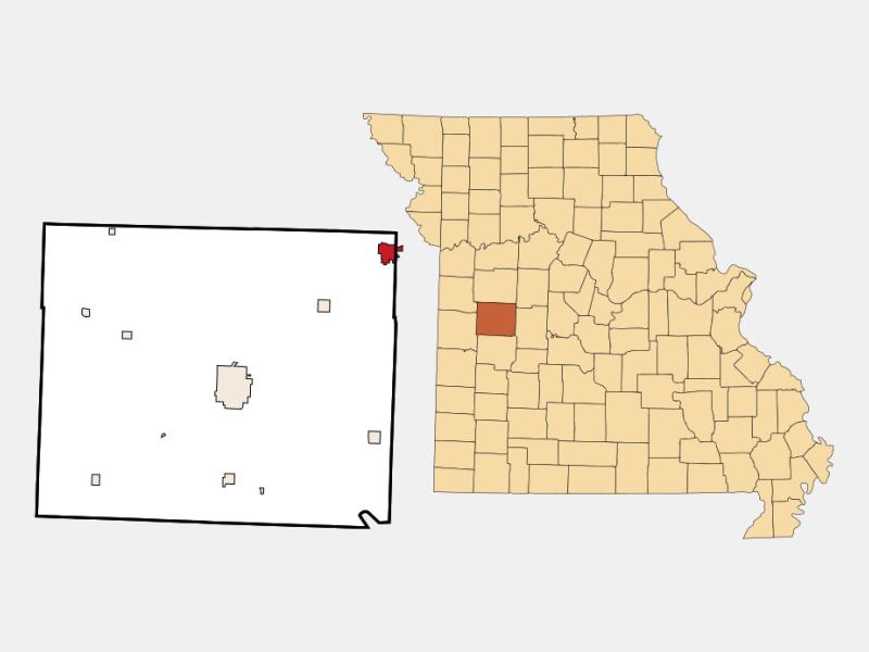 Windsor location map