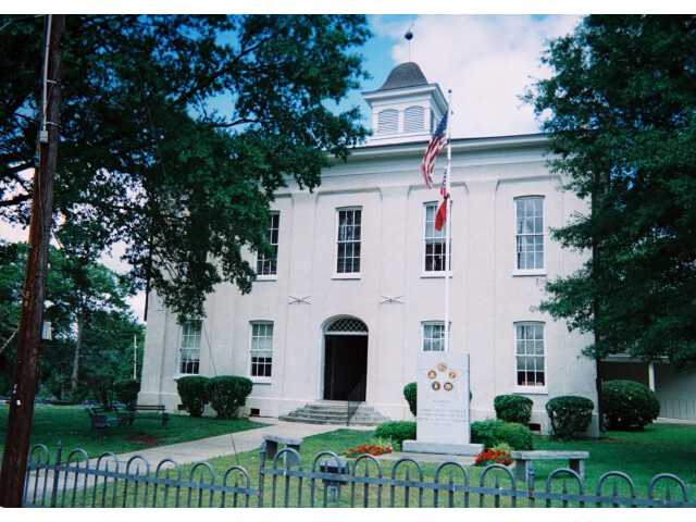 Carroll County MS Courthouse Carrollton image