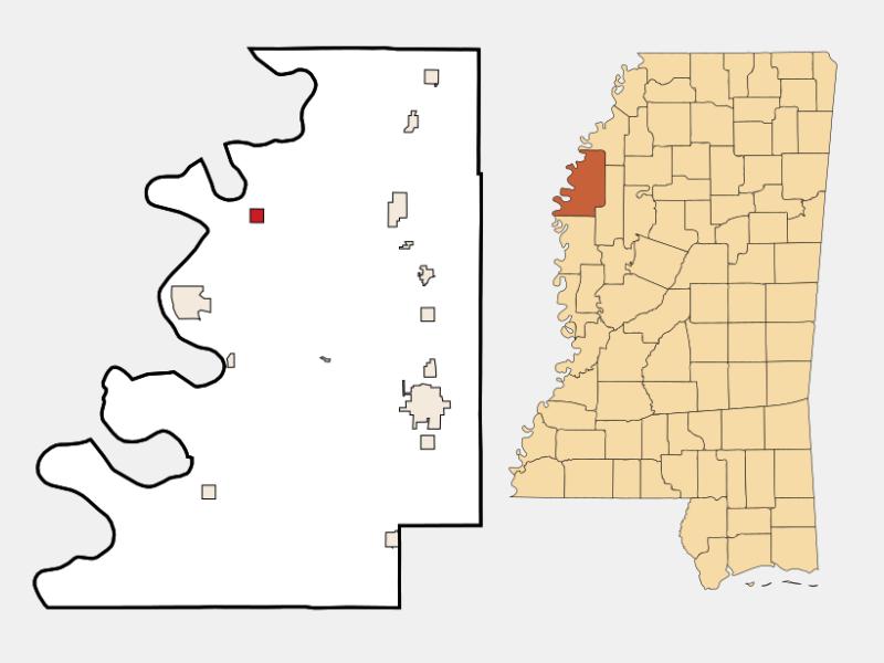 Gunnison locator map