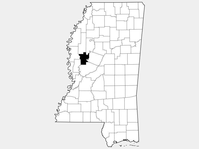 Humphreys County location map