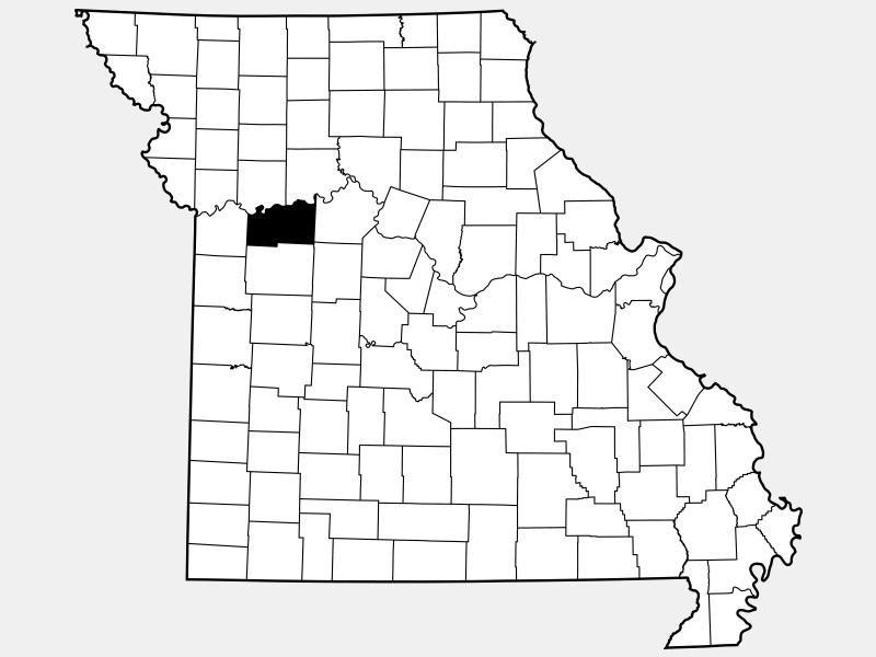 Lafayette County location map