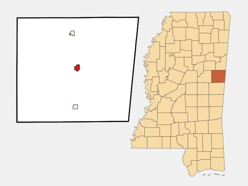 Macon locator map