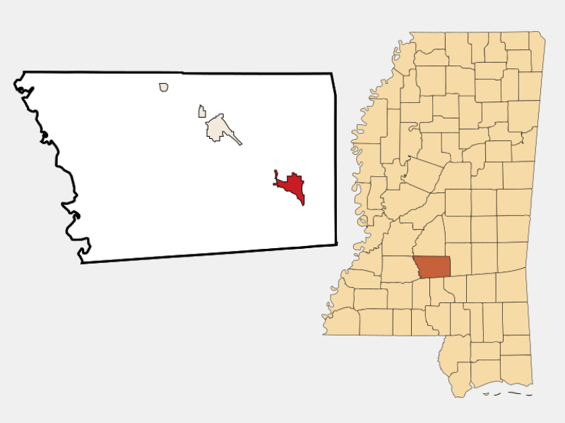 Magee location map