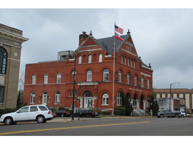 MONROE COUNTY COURTHOUSE  ABERDEEN  MONROE COUNTY. MS image