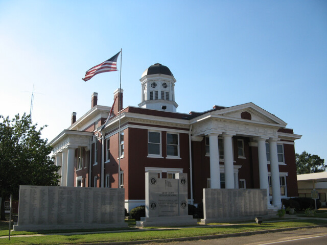 Smith County Mississippi Courthouse image