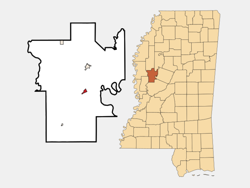 Silver City location map