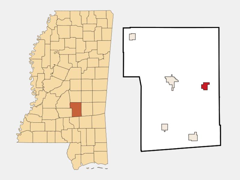 Sylvarena locator map