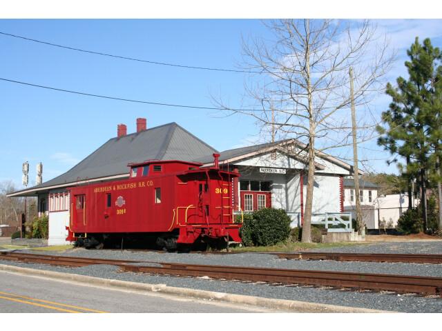 Aberdeen Train Station  North Carolina image