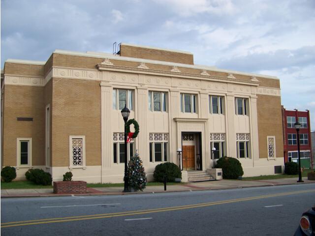 Caldwell County Courthouse - Lenoir  NC image
