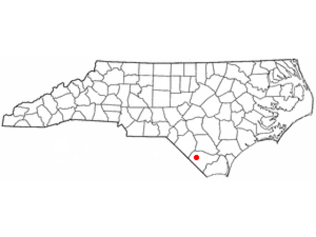 Chadbourn locator map
