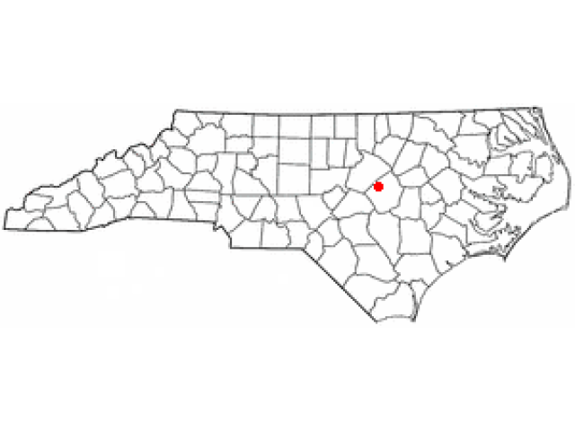 Clayton locator map
