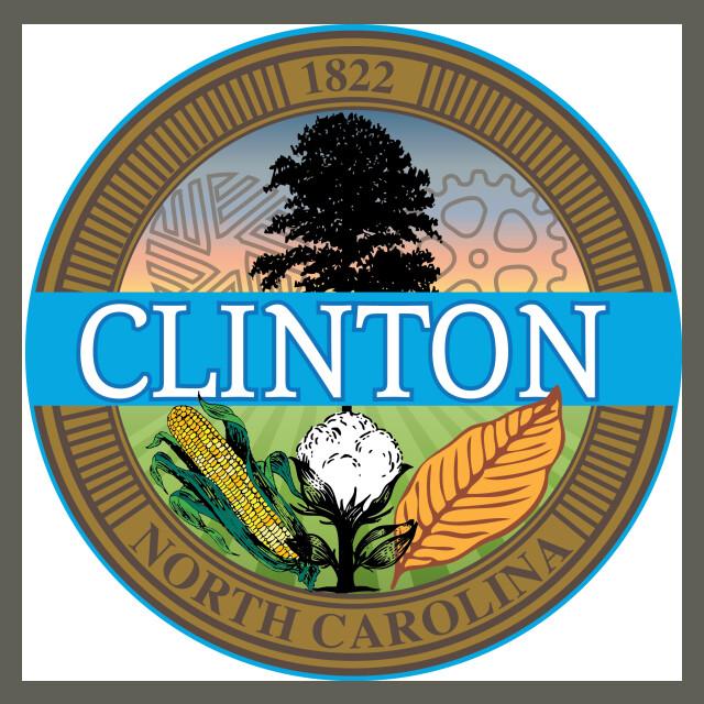 Seal of Clinton  North Carolina seal image