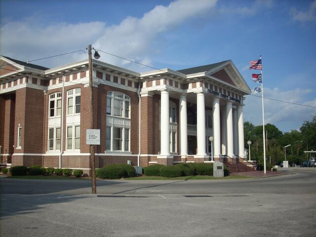 Columbus County  NC Courthouse image