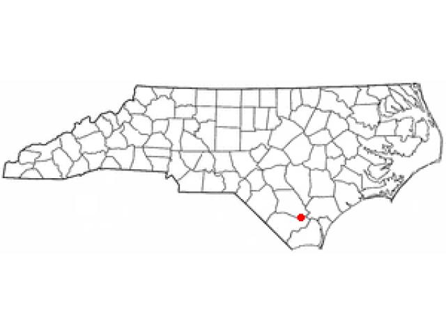 East Arcadia locator map