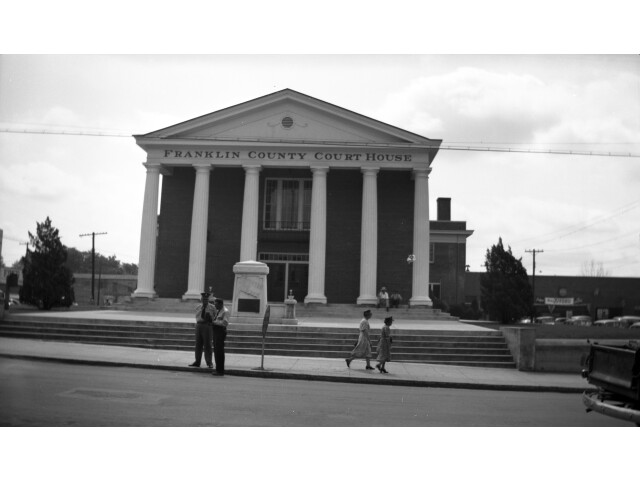 N 56 180 Franklin County Courthouse  Louisburg  NC '8475122497' image
