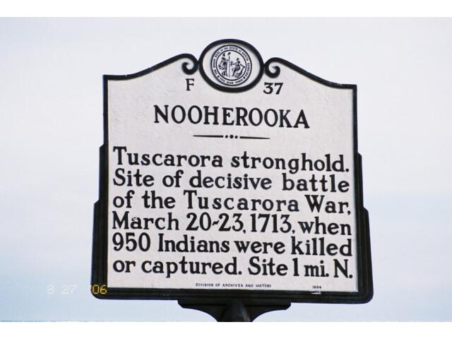 Fort Neoheroka Historical Marker image