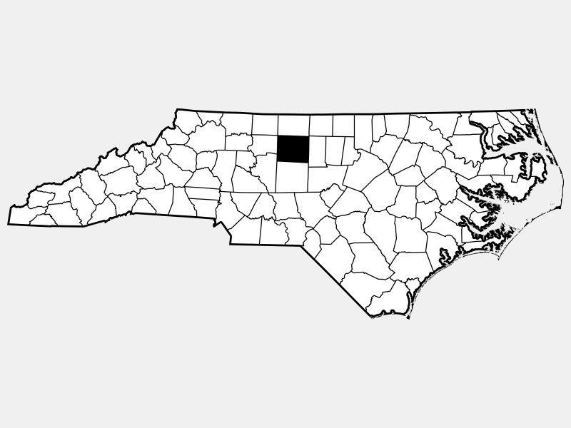 Guilford County location map