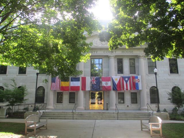 Haywood County  NC  Courthouse IMG 5163 image
