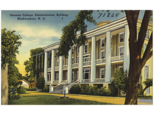 Chowan College Administration Building  Murfreesboro  N. C. '5812043376' image