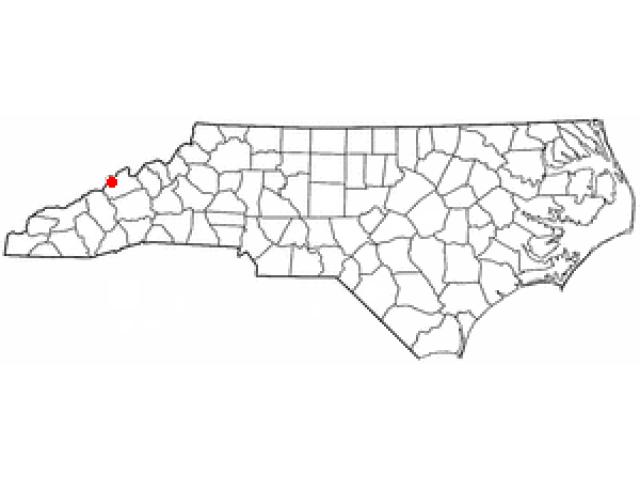 Hot Springs locator map