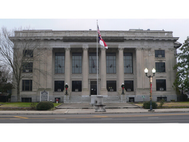 Johnston County  NC courthouse from NE 2 image