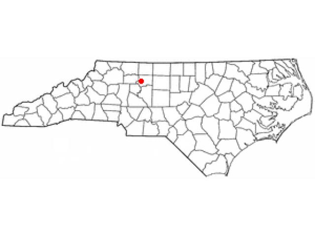 Lewisville locator map