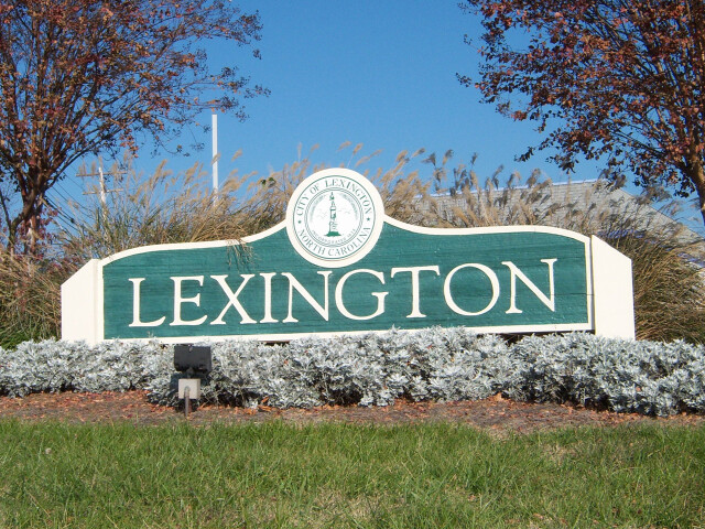 Lexington NC Welcome image