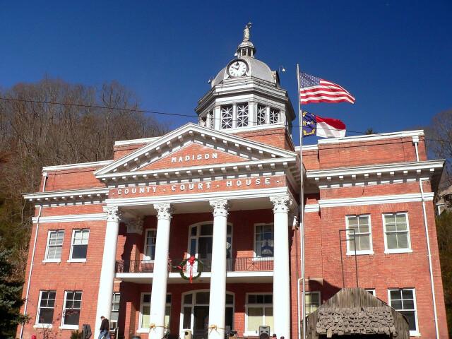 Court House  Madison County  NC image