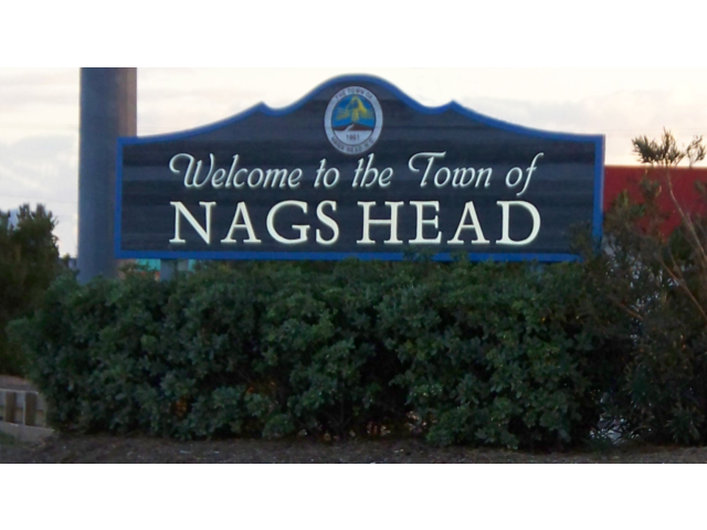 Nags Head town welcome image