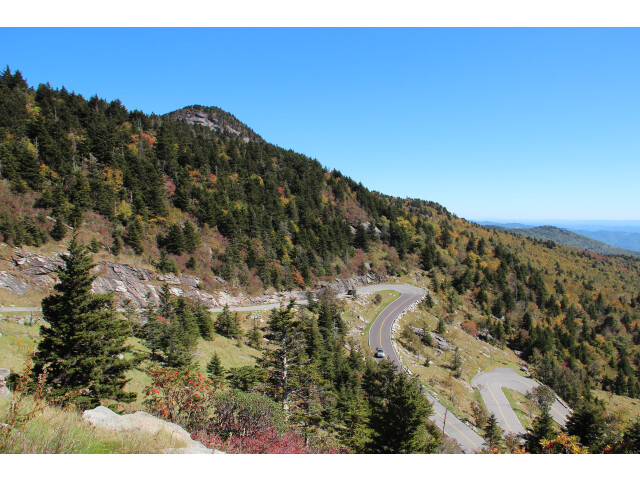 Grandfather Mountain hairpins  Oct 2016 2 image