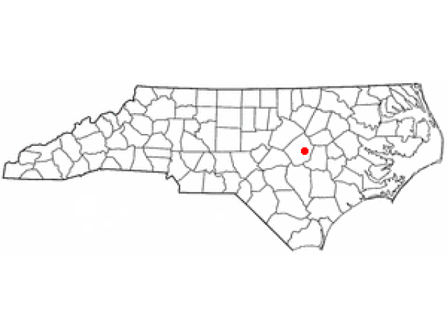 Pine Level locator map