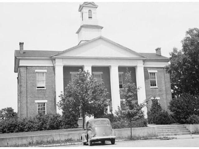 Polk County Courthouse  Courthouse Street  Columbus 'Polk County  North Carolina' image