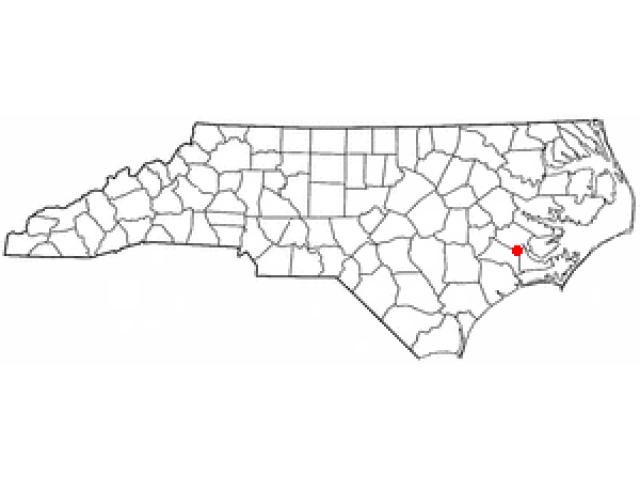 River Bend locator map