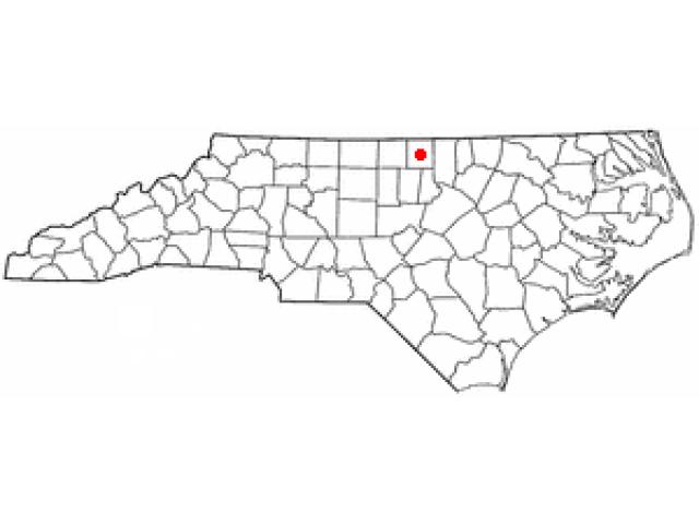 Roxboro location map