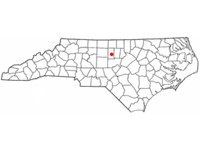 Swepsonville location map