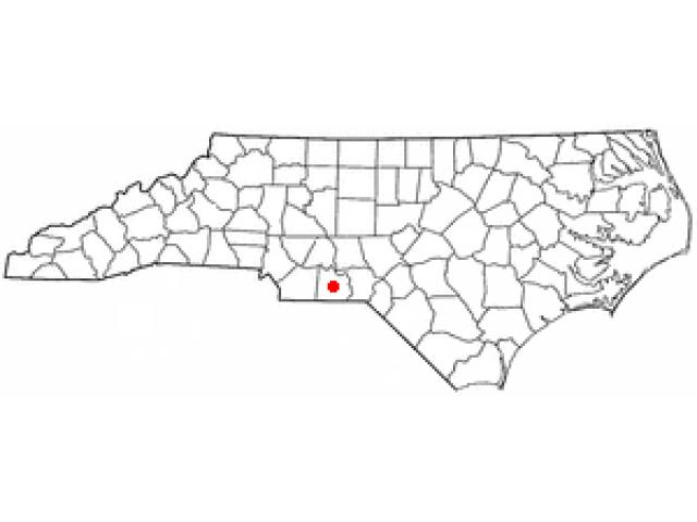 Wadesboro location map