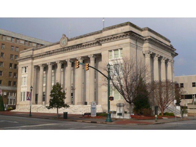 Wilson County NC courthouse from SSW 1 image
