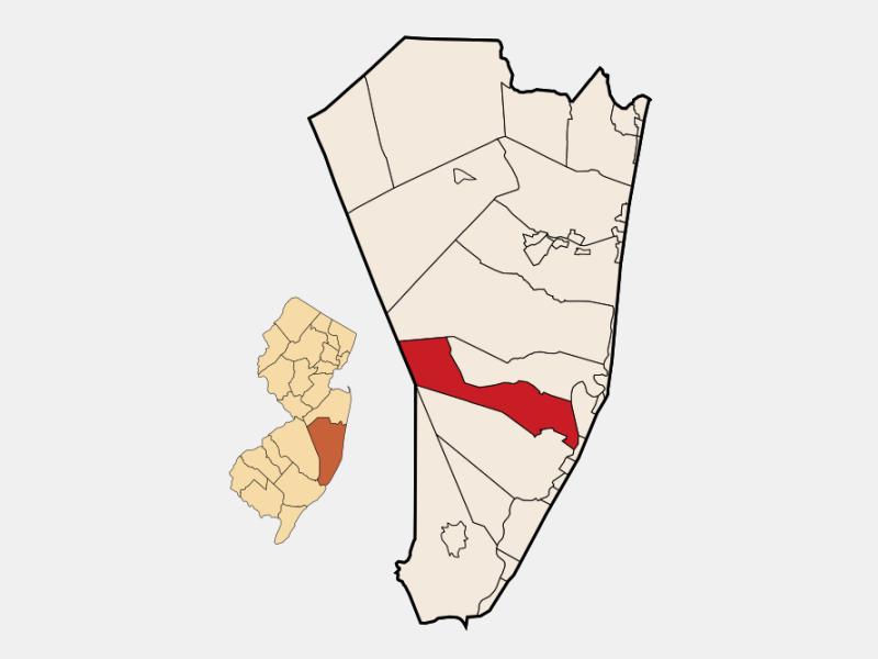 Barnegat locator map